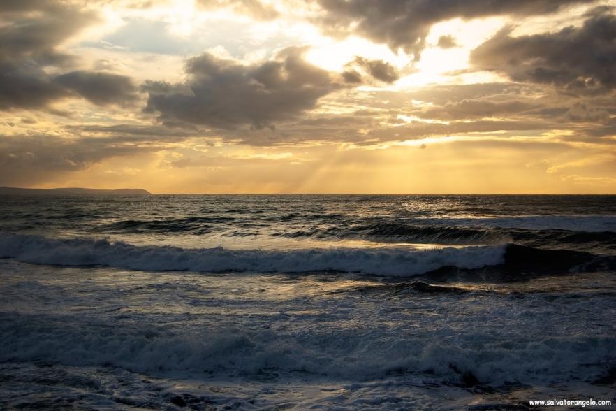 Tramanto a Masua - Sardegna