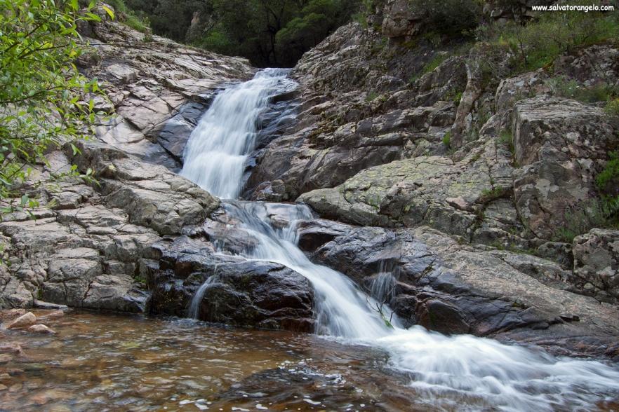 Cascate a Muru Mannu, Villacidro - Sardegna