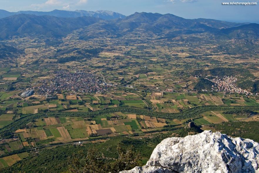 Panorama da Monte Tuttavista, Galtellì - Sardegna