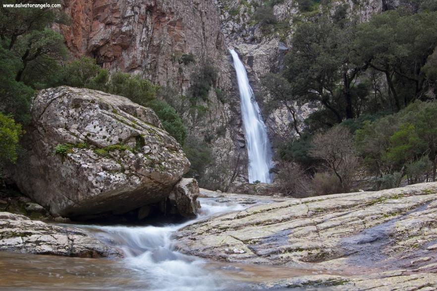 Cascata di Piscina Irgas , Villacidro - Sardegna