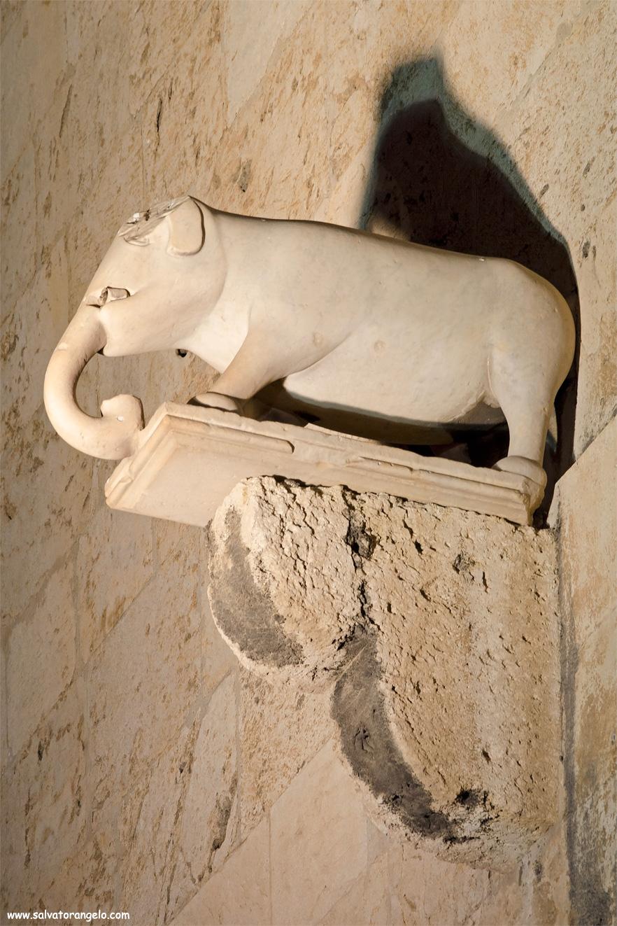 Particolare Torre dell'elefante, Cagliari - Sardegna